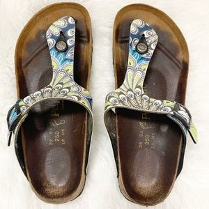 Birkenstock Papillio Gizeh Thong Sandal Paisley 8